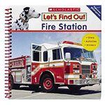 Let's Find Out Fire Station by Wiley Blevins