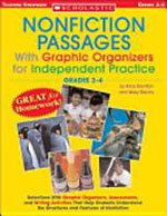 Nonfiction Passages with Graphic Organizers for Independent Practice (Grades 2–4)