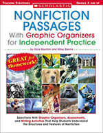 Nonfiction Passages with Graphic Organizers for Independent Practice (Grades 4–8)