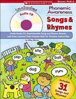 Phonemic Awareness Songs and Rhymes (with CD)